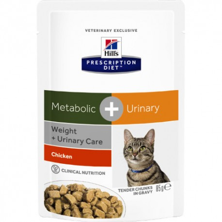 Hill's™ Prescription Diet™ Feline Metabolic Plus Urinary Húmedo