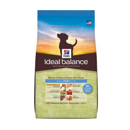 Hill's™ Ideal Balance™ Puppy con Pollo y Arroz Integral