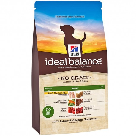 Hill's™ Ideal Balance™ Canine Adult No Grain Pollo-Patata