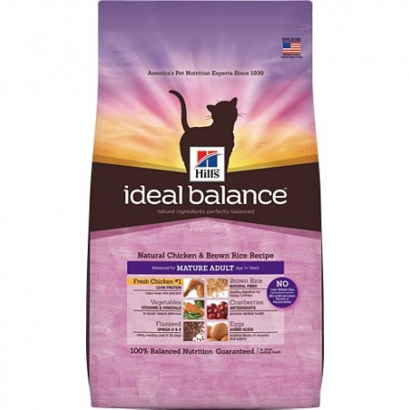 Hill's™ Ideal Balance™ Feline Adut Pollo y Arroz 2kg