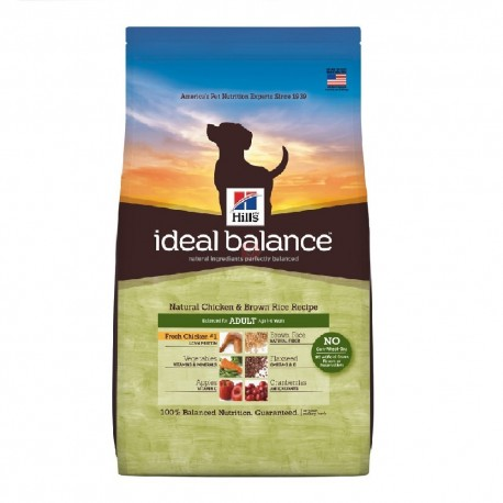 Hill's™ Ideal Balance™ Canine Adult con Pollo y Arroz Integral
