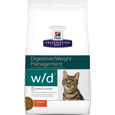 Hill's Prescription Diet w/d Gatos diabetes 5 kg