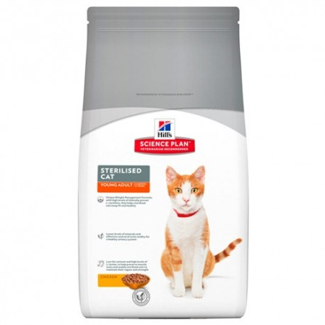 Hill's™ Science Plan™ Feline Young Adult Sterilised Cat Pollo