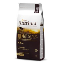 Pienso para gatos True Instinct High Meat