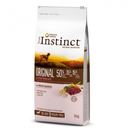 Pienso True Instinct para perros adultos Original Medium - Maxi con cordero