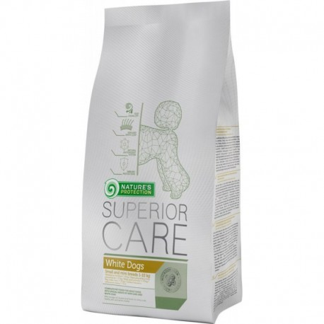 Pienso para perros blancos Nature's Protection 10 kg