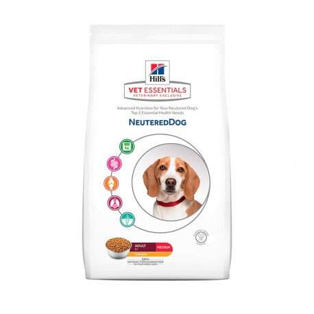 Hill's Vetessentials Neutered Dog Razas Medianas