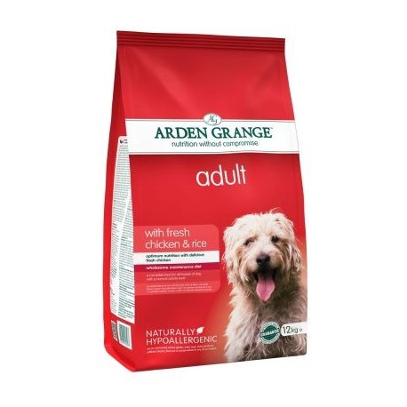 Arden Grange Adult con pollo fresco y arroz