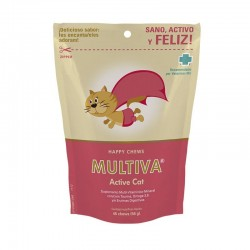 Vitaminas para gatos Multiva Active Cat