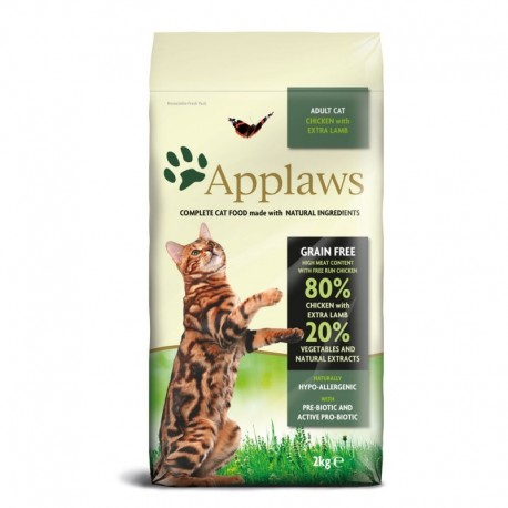 Applaws Gato Adulto Pollo & Cordero 7 kg