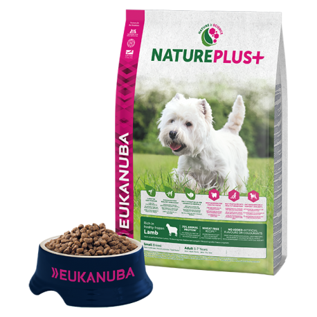 Eukanuba Natureplus+ Adulto Mini Cordero