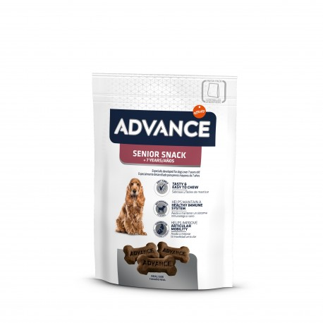 Advance snack para perros senior+7