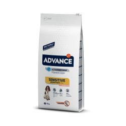 Advance Sensitive perros medium-maxi