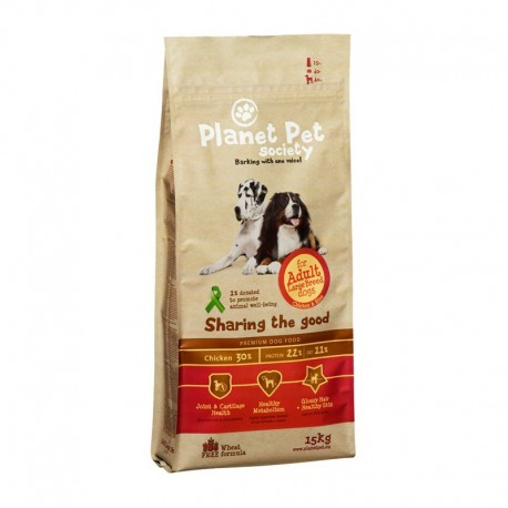 Planet Pet Large Pollo y Arroz 15Kg