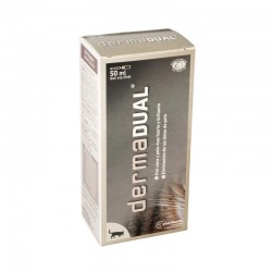 Farmadiet Dermadual Gel Gatos 50 ml