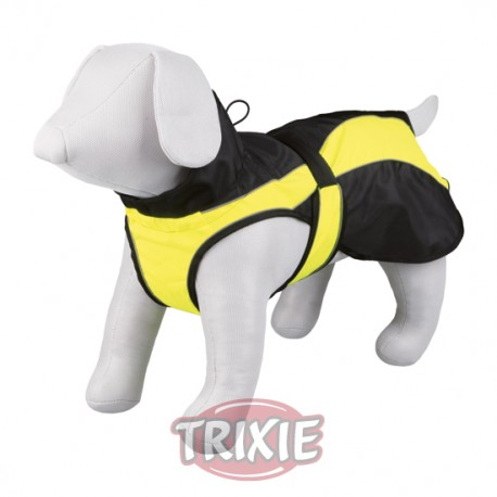 Trixie Capa Safety Negro Amarillo
