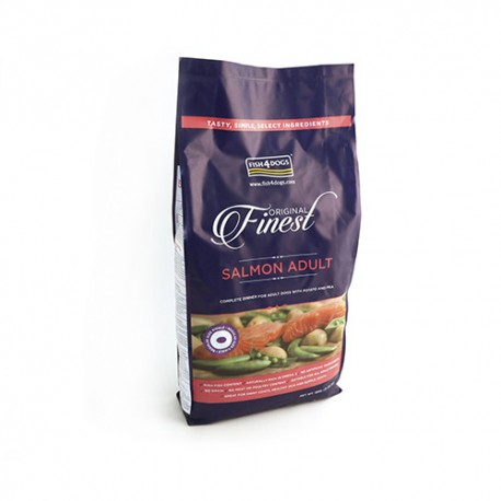 Fish4Dogs Finest Adult Complet con Salmón