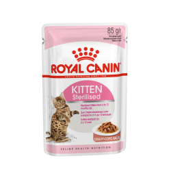 Royal Canin Kitten Sterilised Salsa 12x85 g PACK AHORRO