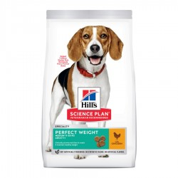 Hill's Science Plan Perfect Weight Medium perros 10kg