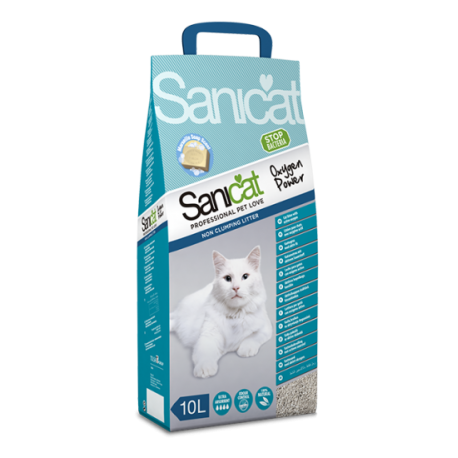 Sanicat arena gatos oxygen power 10 L