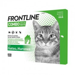 Frontline Combo Spot On Gatos 3 pipetas