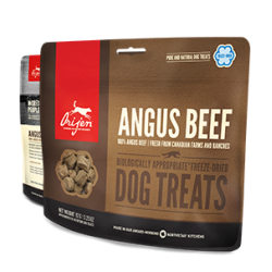 Treats orijen canine adult angus ternera snack 42,5 gr
