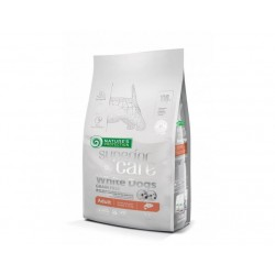 Nature's Protection White Dogs salmon perros pequeños 10 kg