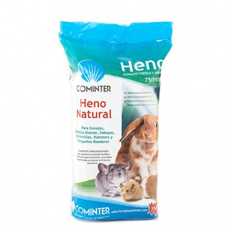 Heno natural roedores Cominter 1 kg